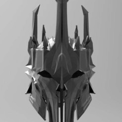 010dd989d449184f6476fde40756fa97_display_large.jpg Download free STL file Sauron Armor - Helmet • 3D printable template, arifsethi