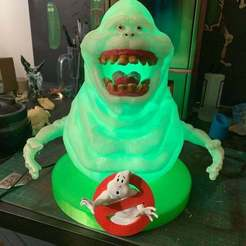 Descargar modelo 3D gratis GhostBusters - Lámpara más delgada de UV Glow in the dark, arifsethi