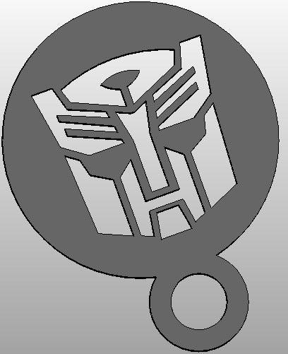 autobot_logo_display_large.jpg Download free STL file coffee Stencil - Autobot Logo or upside down Darthwader • Object to 3D print, arifsethi