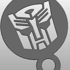 Download free 3D printer designs coffee Stencil - Autobot Logo or upside down Darthwader, arifsethi