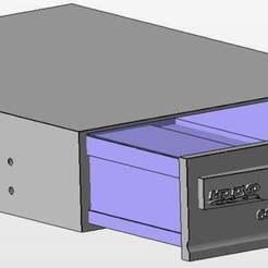 Descargar archivo 3D gratis ALMACENAMIENTO DE UNIDADES CD, arifsethi