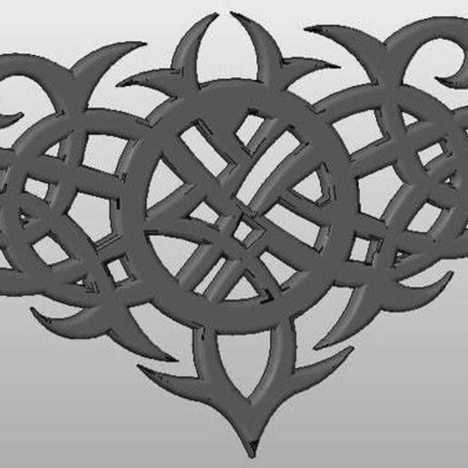 Télécharger modèle 3D gratuit art celtique, arifsethi