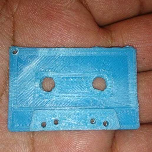 Download free 3D print files Cassette Keychain, arifsethi