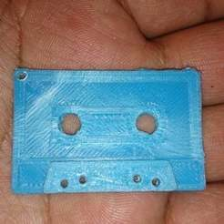 Download free STL file Cassette Keychain • 3D printing template, arifsethi