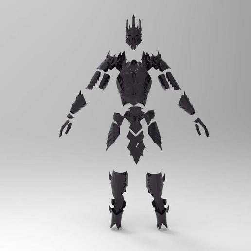 a41e36fae0a91f77d2031331da7bad26_display_large.jpg Download free STL file Sauron Armor - Helmet • 3D printable template, arifsethi