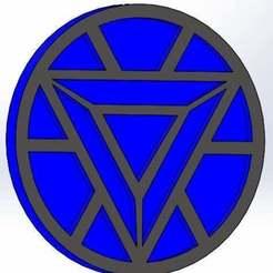 Télécharger fichier STL gratuit Marvel - logo ironman • Plan pour imprimante 3D, arifsethi