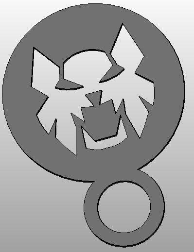 tiger_display_large.jpg Télécharger fichier STL gratuit Pochoir à café - Tiger • Design pour imprimante 3D, arifsethi