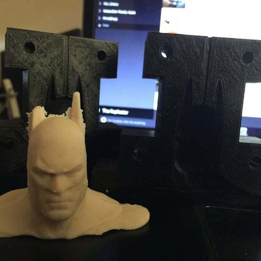 Download free STL Batman Mold, arifsethi