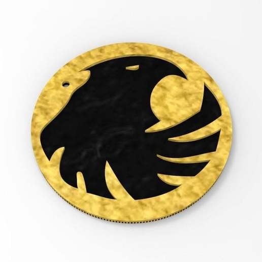Download free STL file Black Canary Logo - Keychain, arifsethi