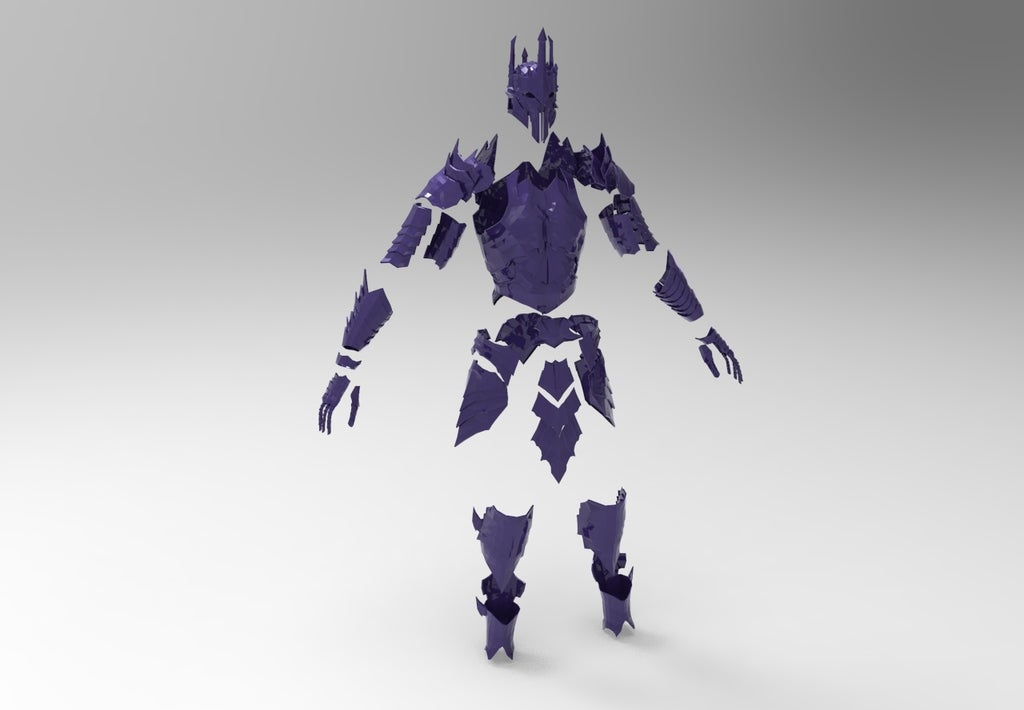 19add4729466a6be6f3dbf53729cb76c_display_large.jpg Download free STL file Sauron Armor - Complete • 3D printer template, arifsethi
