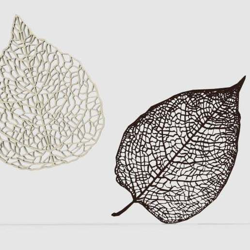 Download free 3D print files Leaf Veins System, arifsethi