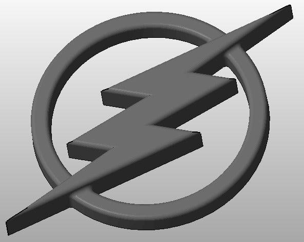 the_flash_logo_display_large.jpg Download free STL file The Flash Logo • 3D printable design, arifsethi