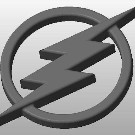 Download free 3D printer model The Flash Logo, arifsethi