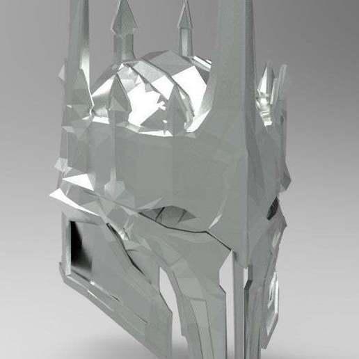 1b66b86aa14174f92dac54363f2b2d37_display_large.jpg Download free STL file Sauron Armor - Helmet • 3D printable template, arifsethi