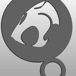 Download free STL file coffee Stencil - thundercats logo • 3D printable template, arifsethi
