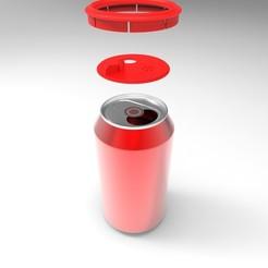 Modèle 3D gratuit Embout à canette pour épices, céréales et autre..., anaisgds