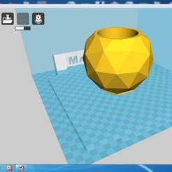 Download STL file the silicon mold and holder  for   concrete geo pot  • 3D printable model, zigsgroup