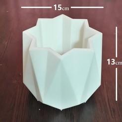 Download 3D model lotus pot, zigsgroup
