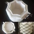 3D printing model diamond pot mold, zigsgroup