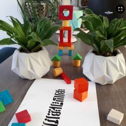 Télécharger modèle 3D pot de néon, zigsgroup