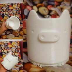 3D printing model pig pot, zigsgroup