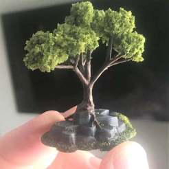 34853707986dbecb9459d5c4b3ea6390_display_large.JPG Download free STL file Wargaming Tree growing on Rocks / Ruin • 3D printable object, BigMrTong