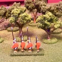 Download free 3D print files Wargaming Trees for Flocking - 15mm HotT, BigMrTong