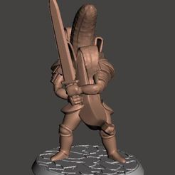 Descargar archivos 3D gratis Banana Knight v5 - Hero Long Sword, BigMrTong