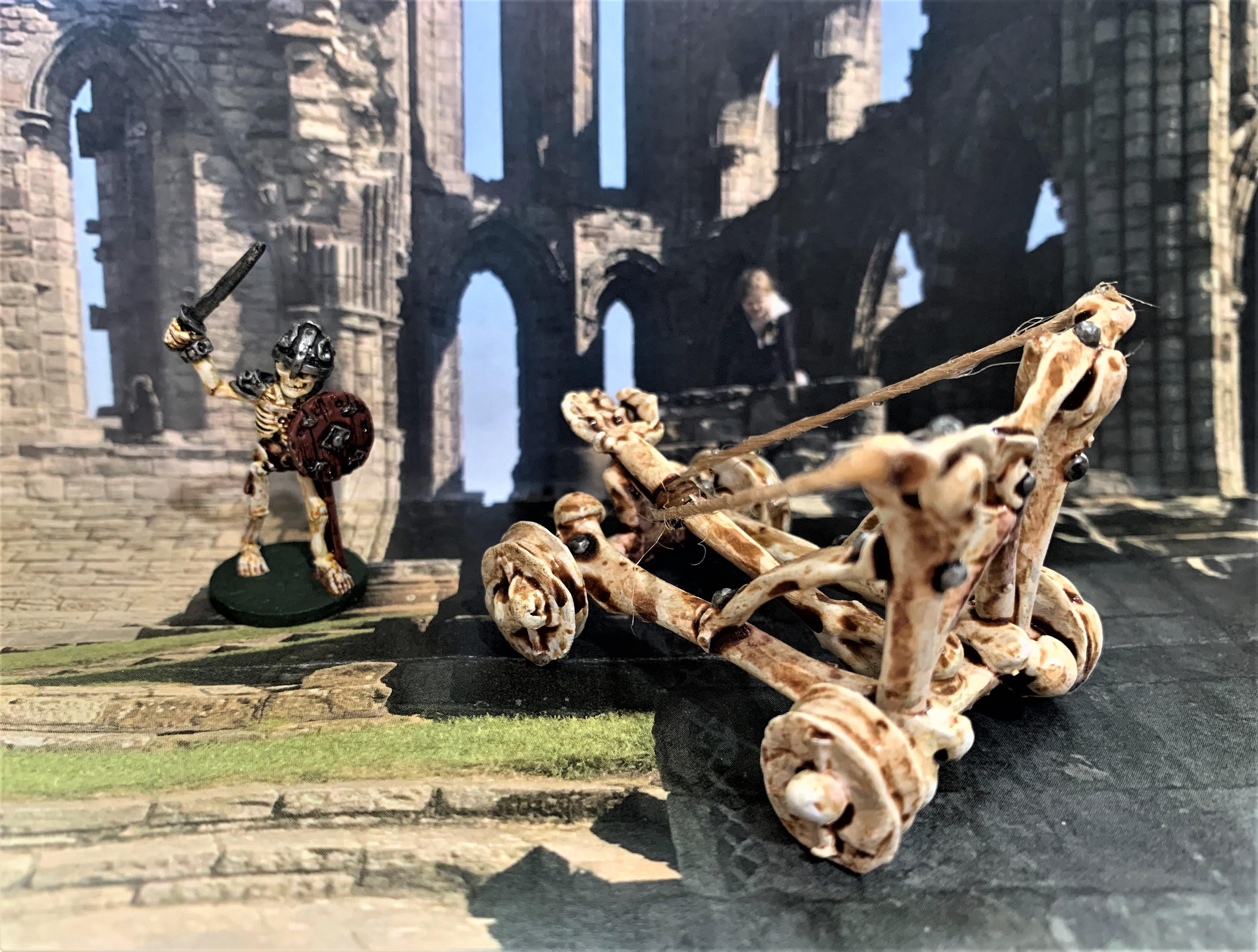 IMG_0616.JPG Télécharger fichier STL gratuit Catapulte squelette mort vivant - Warmachines • Plan pour impression 3D, BigMrTong