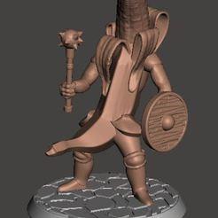 Descargar archivos 3D gratis Banana Knight v7 - Mashing Mace, BigMrTong