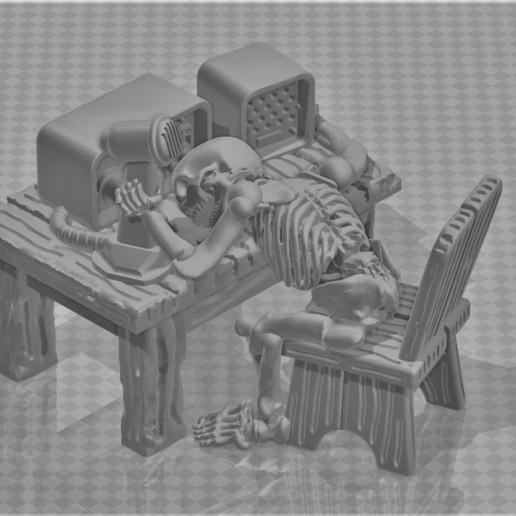 Download free STL file FWW - Fallout Wasteland Warfare - Radio Operator Lost Signal • 3D print object, BigMrTong