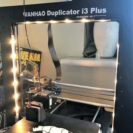 Descargar archivos STL gratis Soportes para tiras de luz LED Ikea para impresoras Wanhao i3, BigMrTong