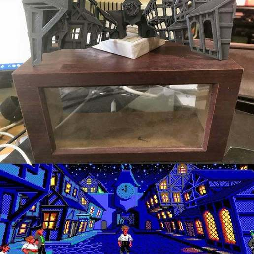 Download free 3D printer files Monkey Island - Melee Island