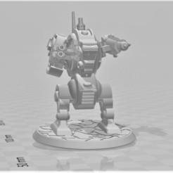 Descargar archivo 3D gratis Fury Furibundus Pattern Style Dreadnought - 28mm Robot Sci-Fi, BigMrTong
