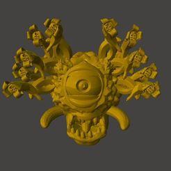 bh1.jpg Télécharger fichier STL gratuit D&D Banane Beholder • Plan pour impression 3D, BigMrTong