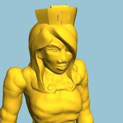 Download free 3D printer designs Old Fashioned Nurses Hat, BigMrTong