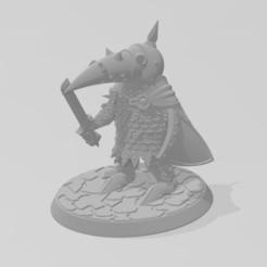 Download free 3D print files 28mm NacktDreck Miniature, BigMrTong