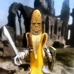 Descargar modelo 3D gratis Proyecto Caballero Gigante del Banano!, BigMrTong