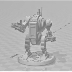 Descargar archivo 3D gratis Dreadnought moderno del estilo del patrón de Furibundus - 28m m del robot Sci-Fi, BigMrTong
