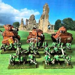 IMG_2826.JPG Download free STL file 15mm Ork Boys Army Figures • 3D print object, BigMrTong