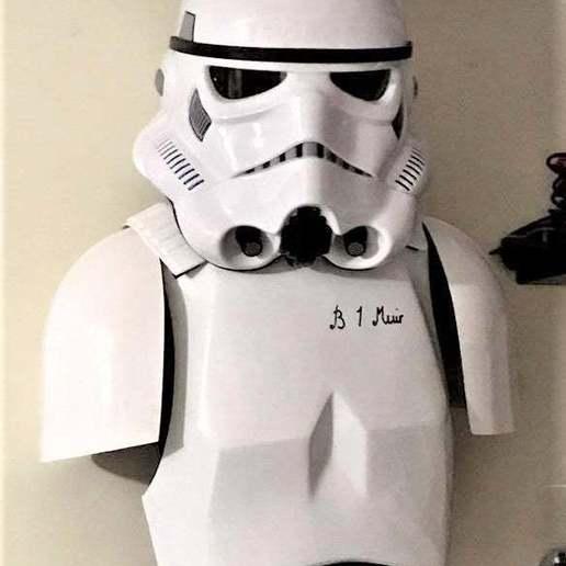 Descargar archivos 3D gratis Placa de designación del Stormtrooper Imperial Logo & TK-421 - StarWars, BigMrTong