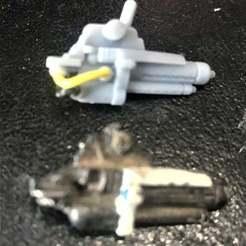 Télécharger modèle 3D gratuit Le canon de Las Cannon du robot Chuck, BigMrTong