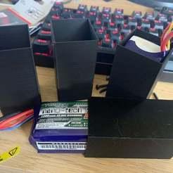 Imprimir en 3D gratis Blindaje de Batería LiPo - Turnigy nano-tech 1300mAh 4S, BigMrTong