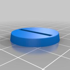 SlottaBase.png Download free STL file 28mm Classic Miniature Slotta Base • 3D print template, BigMrTong