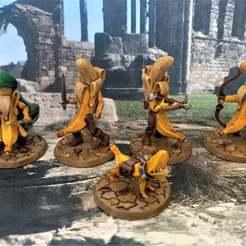 Descargar modelo 3D gratis Banana Frostgrave Warana Warband - Set 2, BigMrTong
