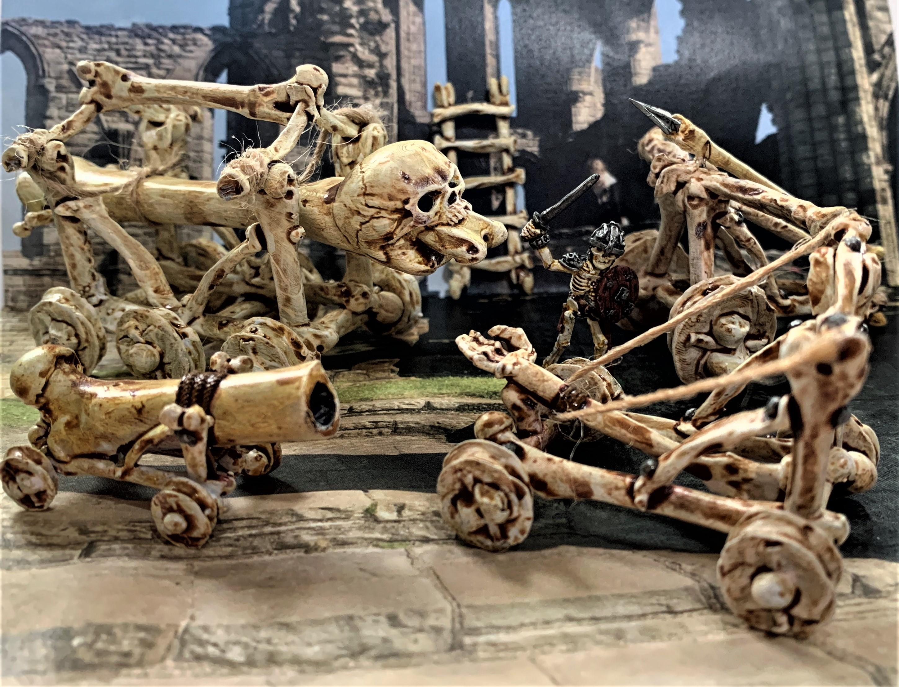 IMG_0614.JPG Télécharger fichier STL gratuit Catapulte squelette mort vivant - Warmachines • Plan pour impression 3D, BigMrTong