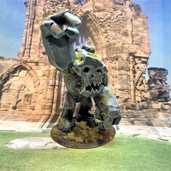 Descargar modelo 3D gratis Ídolo de Mork - Ork / Goblin Stone Golem, BigMrTong