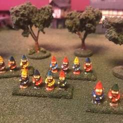 Impresiones 3D gratis 15mm Gnome Army - HotT, BigMrTong