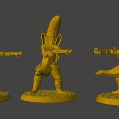 Download free 3D printer designs Banana with a Blunderbuss, BigMrTong
