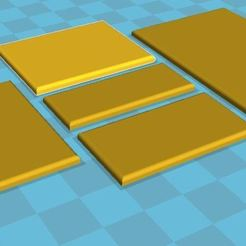 Télécharger fichier STL gratuit Hordes of the Things (HotT) Bases de 15 mm (40 mm avec façade), BigMrTong